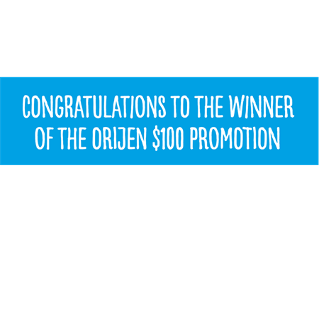 Winners Announced - New Zealand Orijen and Indepet stores $100 voucher